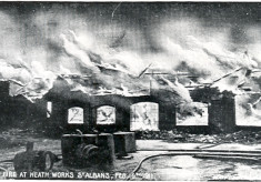 The Fire at Heath Tallow Works 1911