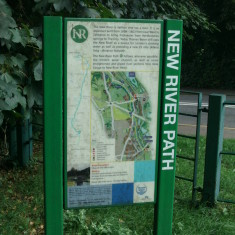 Information board at St Margarets | Nicholas Blatchley