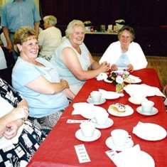 Left to right: Maureen Stevens, Cynthia Picton, Annie Fensom, Barbara Woods, Edna Fensom, Eileen Austin. | Geoff Webb