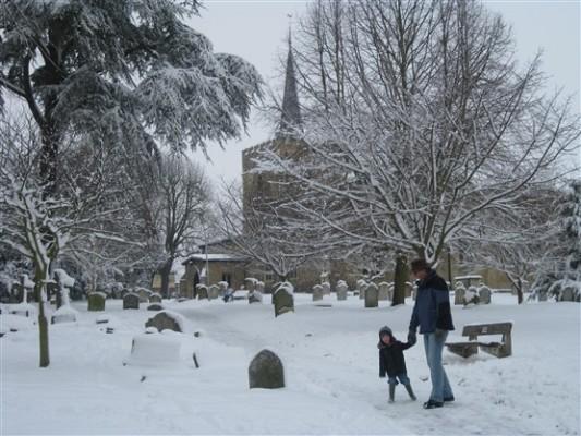 Great St Marys churchyard   Susi Smith