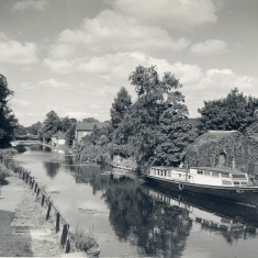 The River Lea from the toll Bridge | Hertfordshire Archives and Local Studies