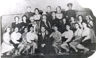 Christmas Show 1940/41, Chalkdell Hospital.