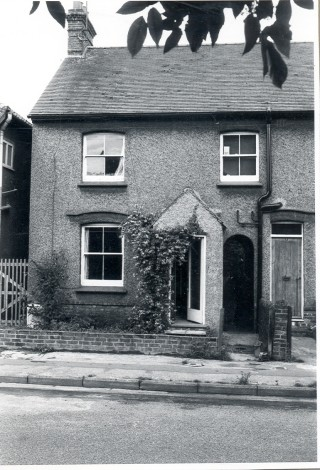 A House in Cromwell Rd, Hertford, 1929 | Hertfordshire Archives & Local Studies