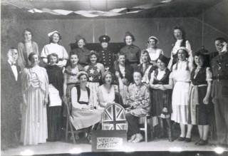 Christmas entertainment at Chalkdell, 1943.