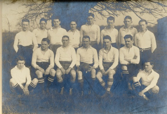 Unidentified Rugby Team | Hertfordshire Archives & Local Studies