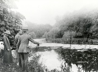 The Lake at Lockleys | Hertfordshire Archives and Local Studies