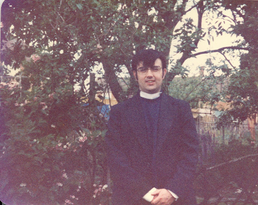Vicar of Treacle Bumpstead. | copyright alan French. (photographer Rose French.)