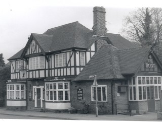 The Boot Inn. A more recent photograph