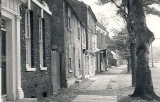 A more recent view of the lower part of the High Street