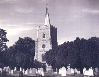 St. Mary's Church, 1958 | Hertfordshire Archives & Local Studies