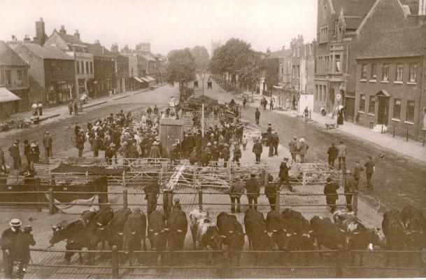 St Albans Market c 1910 | St Albans Museum