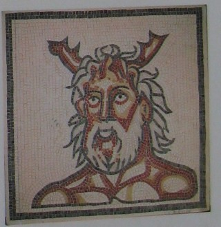 The sea god mosaic