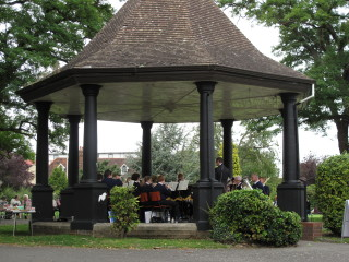 Bandstand in bancroft park | Molly W