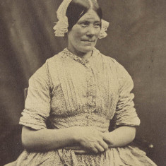 A servant of the Claridges, 1850s | Hertfordshire Archives and Local Studies, Ref: D/Ebi 54
