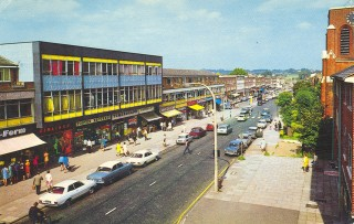 Shops in Shenley Road | Borehamwood Library