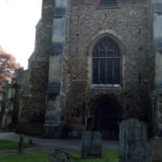 Graveyard view   Open Door