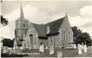 St. Mary's Church, 1963 | Hertfordshire Archives & Local Studies