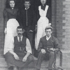 Staff at Markyate Rectory, c. 1900 | Hertfordshire Archives and Local Studies, Markyate in Camera