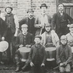 Staff at Rothamsted Manor Farm, 1880's | Hertfordshire Archives and Local Studies, Bye Gone Harpenden