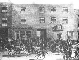 The Turf Hotel, Chequer Street c1832
