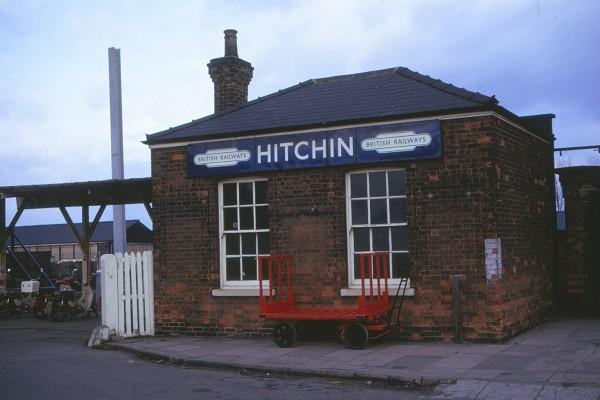 Hitchin ststion 1975 | H Pegrum