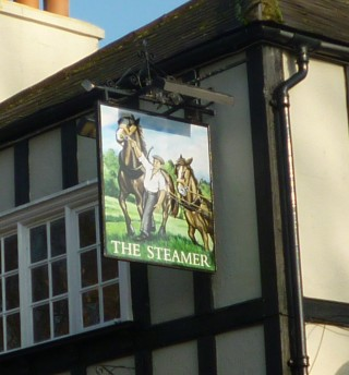 'The Steamer' public house in Welwyn today | Jennifer Ayto