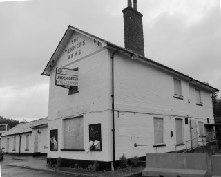 Tanners Arms - 100 years later, sadly boarded up for disposal | Terry Askew