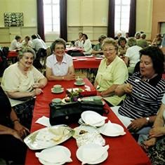 Left to right: 'Bunny' Taylor, Brenda Ventham, Joan Mimer, Thelma Coleman, Edna Game, Dorothy Brett. | Geoff Webb