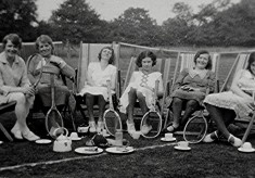 Tennis in the late 1920's