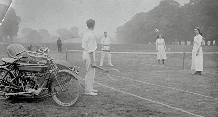 Tennis on Redbourn Common | Geoff Webb