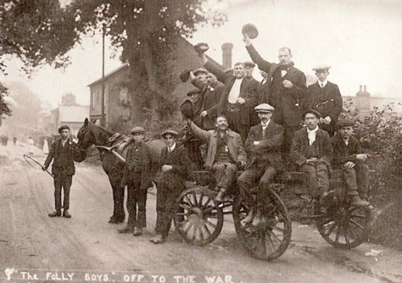 WW1 The Folly Boys of Wheathampstead.