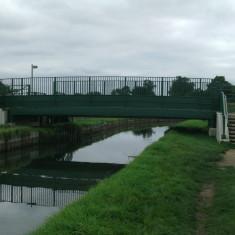Theobalds footpath bridge, looking upstream | Nicholas Blatchley