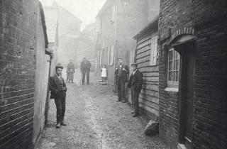 Thorpe's Yard, 1920s