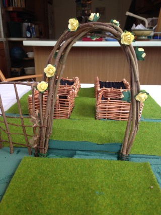 Model of a Medieval monastic garden- the start | Felicity Marpole