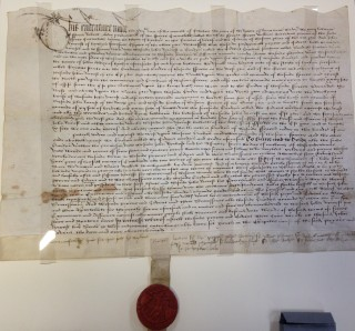 DE 112B Indenture and seal, 1507 | Felicity Marpole