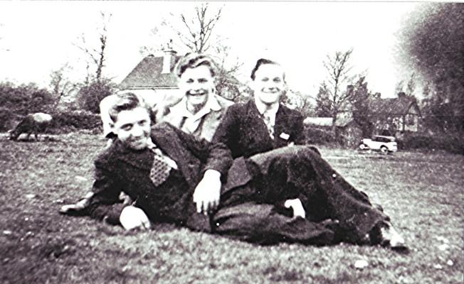 Derek Elsom, Geoff Hobbs and George Allen | Geoff Webb