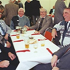 Left to right: Norman Shepherd, John Archer, Jim Smith, Alan French, John Tingey, Peter Archer and Roy French | Geoff Webb