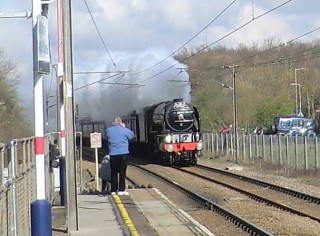 Approaching Watton at Stone Station | Terry Askew