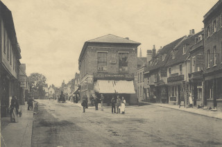 The Town Hall, c1910   Hals