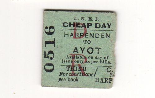 A 1948 ticket stub