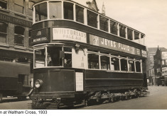 Trams in Waltham Cross