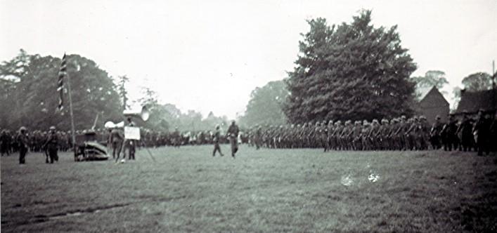 2nd World War Soldiers' Parade | Geoff Webb
