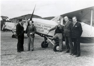 The London Aeroplane Club 1947 | Local Studies Image Collection
