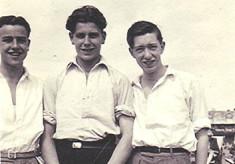 Beach Trio c.1946