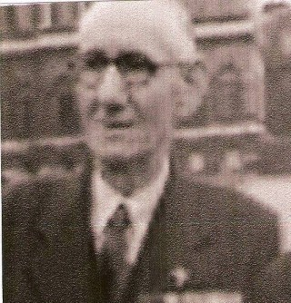 Arthur Cross V.C. in the early 1950's | From an old photograph