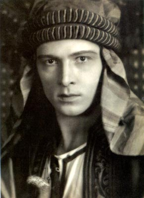 Rudolph Valentino as The Sheikh | Public Domain