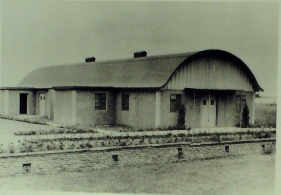 Village Hall, 1955, before it officially opened | Iain Bickerton