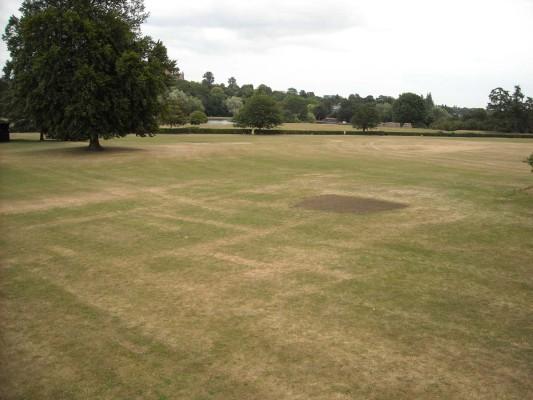 Verulamium Park, taken during the drought of summer 2010 | Verulamium Museum, St Albans