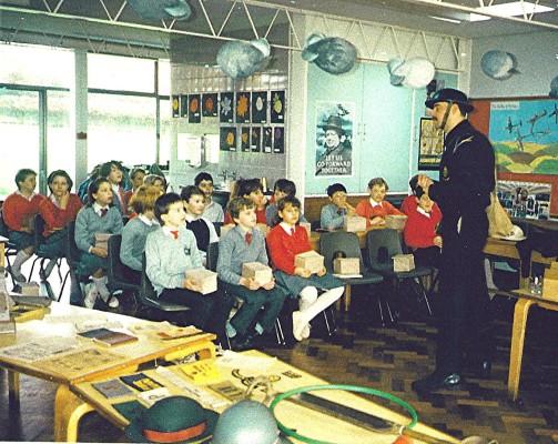 Junior School W.W.2 Lecture | Geoff Webb