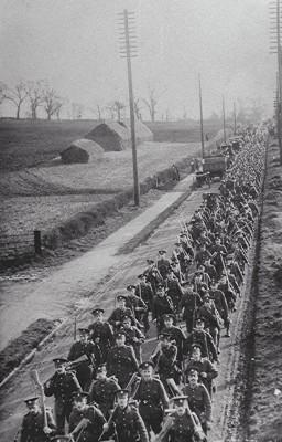 First World War Troops | Geoff Webb
